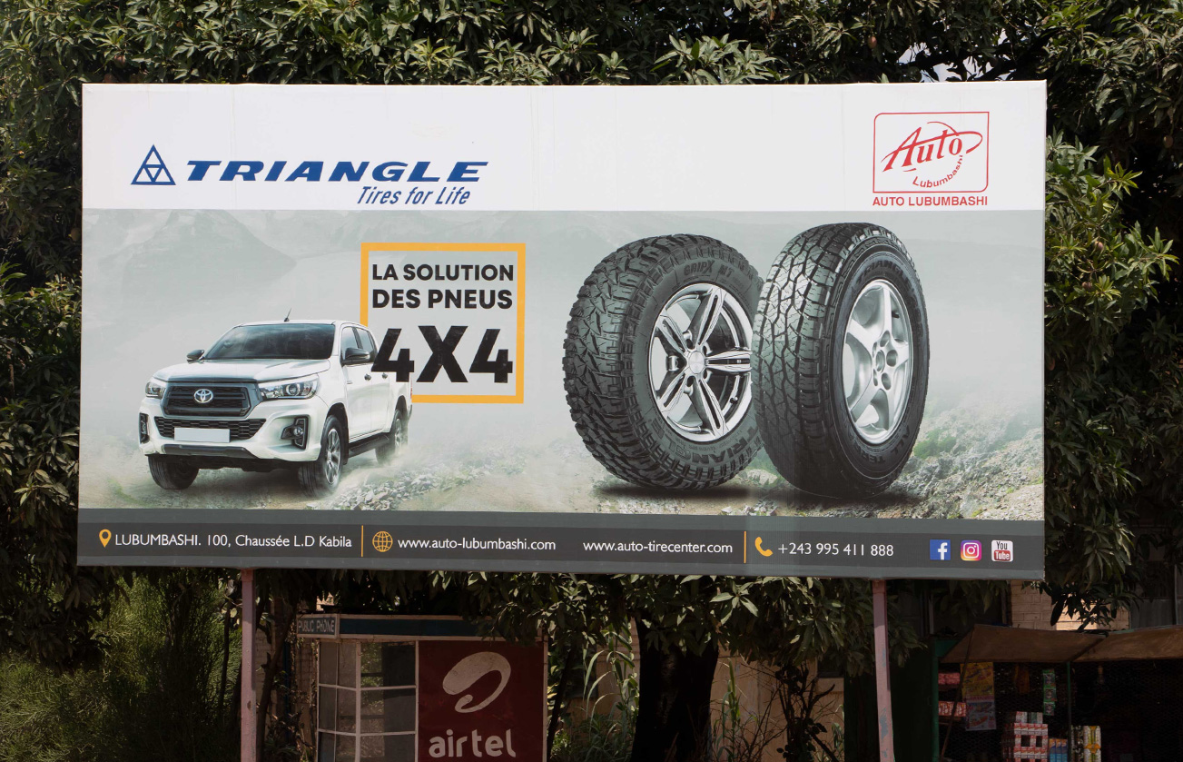 Triangle Tires Campaign 2021