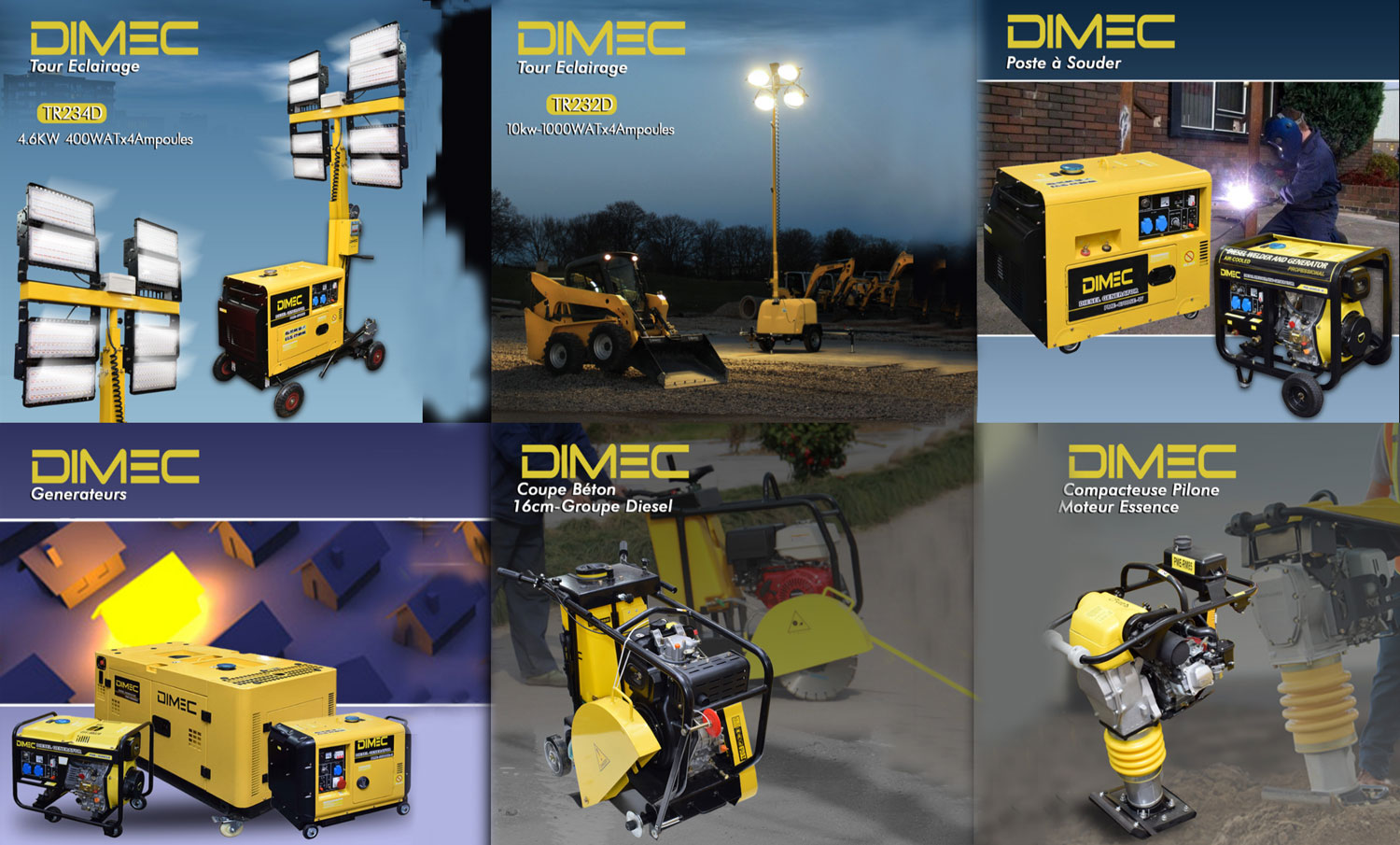 DIMEC Generators & Construction Equipments