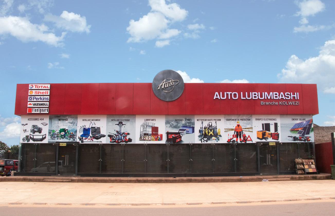 Auto Lubumbashi Branche Kolwezi